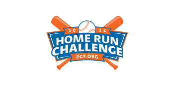 The Home Run Challenge with MLB and PCF Logo